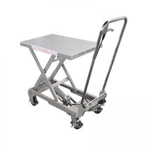 BSA10 ալյումինե / ձեռքով մկրատ չժանգոտվող պողպատից բարձրացնող սեղան