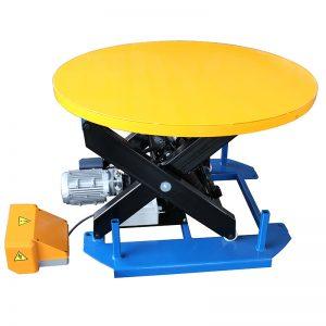 HRL1000 Ստացիոնար վերելակային սեղան ՝ կարուսելի պտտվող սեղանով