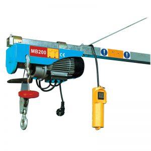 MB200 Mini Electric ամբարձիչ, էլեկտրական լծակի բարձրացնող սարք