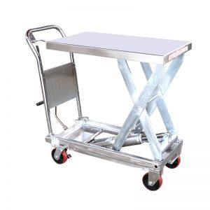 YSG35D չժանգոտվող պողպատից բարձրացնող սեղան